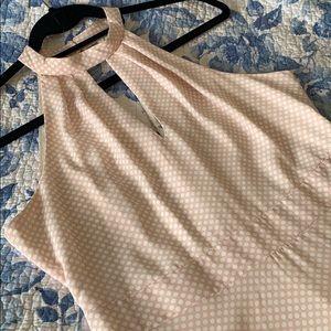 Pink Polkadot Skater Dress